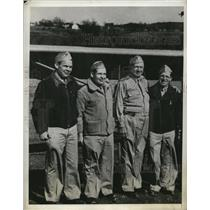 1944 Press Photo Andrew Martin, Wellington Martin, A.I. Martin and Starr Martin