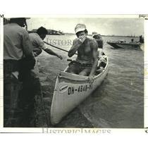 1979 Press Photo Great National Canoe Race Winners Arrive in New Orleans