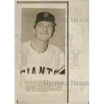 1972 Press Photo John McNamara San Diego Padres - RRQ37483