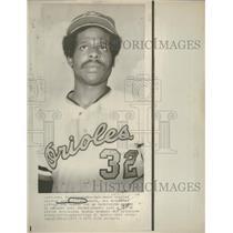 1973 Press Photo Earl Williams Catcher Orioles Suspend - RRQ38347