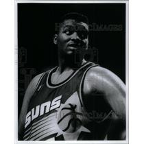 1992 Press Photo Oliver Miller Phoenix Suns - RRQ43931