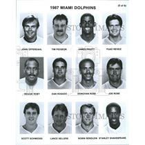 Press PhotoMiami Dolphins Team Members James Fuad John - RRQ45689