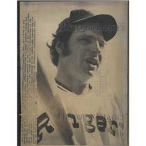 1972 Press Photo Larry Biittner,Texas Rangers - RRQ49121