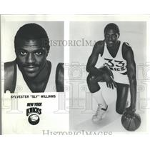 "Sylvester ""Sly"" Williams New York Knicks Player NBA - RRQ50041"