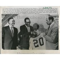 1969 Press Photo Pete Retzlaff Philadelphia Eagles - RRQ50265