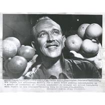 1956 Press Photo John Kline Washington Senators MLB - RRQ50737