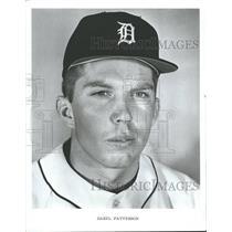 1970 Press Photo Daryl Patterson Detroit Tiger Baseball - RRQ51065