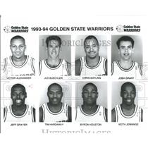1993 Press Photo Golden State Warriors Tim Hardaway - RRQ52085