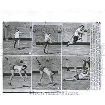 1955 Press Photo Title Winning NY Javelin Cantello La - RRQ52643