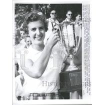 1957 Press Photo Meriam Bailey Amateur Cup Lochmoor IL - RRQ52839
