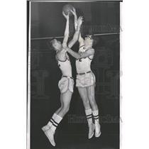 1962 Press Photo Edward Custer Chicgao John North ball - RRQ52913
