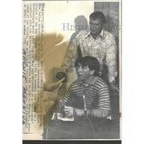 1971 Press Photo Archie Manning New Orleans Saints No 1 - RRQ53487