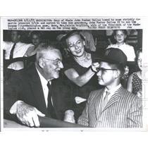1957 Press Photo John Foster Dulles Secy State Grandson - RRQ53815