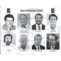 Press Photo Phoenix Suns Jerry Colangelo President Joe - RRQ59971