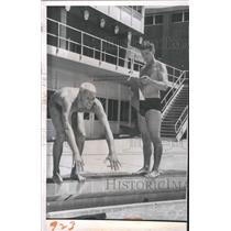1960 Press Photo Lance Larson American swimmer - RRQ60437