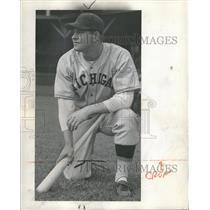 1945 Press Photo Donald chaput Baseball Player - RRQ60555