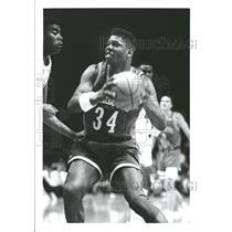 1900 Press Photo Herman Reid basketball player NBA team - RRQ60845