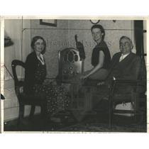 1928 Press Photo Tom Bridger Detroit Gordonville home - RRQ59369