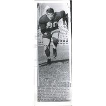 1931 Press Photo A Carmichael Football Pllayer American - RRQ15759