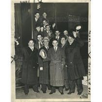 1937 Press Photo Fenwick High School Basketball Team - RRQ55453