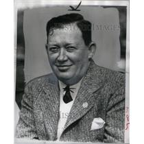 1940 Press Photo Capt. Leland S. Mac Phail Dodgers mngr - RRQ42747