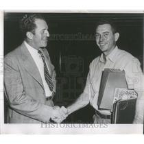 1946 Press Photo Mickey Owen and Terry Moore - RRQ12769