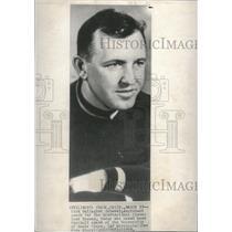 1950 Press Photo Dick Gallagher becomes head coach - RRQ10337