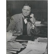 1950 Press Photo Frank Lane - RRQ11655