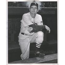 1951 Press Photo Paul Rapier Richards Detroit Tigers - RRQ09663