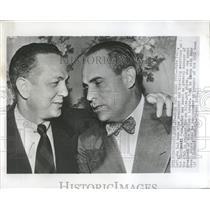 1951 Press Photo Gabe Paul Cincinnati Reds Manager Club - RRQ13291