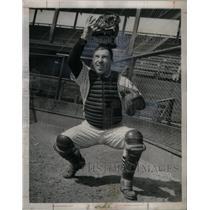 1952 Press Photo Bob Wilson Catcher Chicago White Sox - RRQ42905