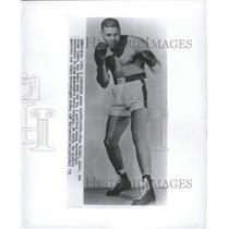 1953 Press Photo Nino Valdez Cuban Boxing Champion - RRQ29037