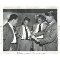 1953 Press Photo Frank Lane American Baseball Chicago - RRQ41189