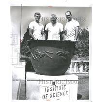 1958 Press Photo Jerry Reichaw Stanley Rampbell Tabin - RRQ40643