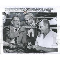 1959 Press Photo Baseball Giants Cubs White Sox - RRQ13185