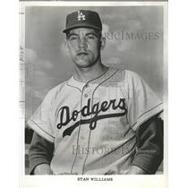1961 Press Photo Stan Williams Pitcher Los Angeles - RRQ48853