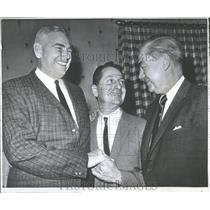 1961 Press Photo NFL Coach Of The Year Allie Sherman - RRQ64959