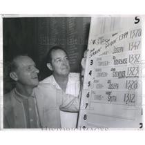 1965 Press Photo Bob Strampe Lou Gasden Baseball player - RRQ66663