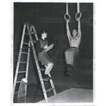 1965 Press Photo Gabriele Wuttke Olympic Gymnast - RRQ66913