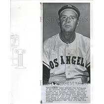 1968 Press Photo Joe Gordon Kansas City Royals Manager California Angels