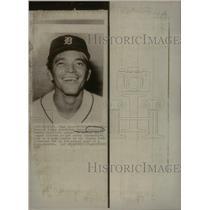 1970 Press Photo Cesar Gutierrez Detroit Tigers shortst - RRQ42665