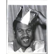 1970 Press Photo Dave Stallworth New York Knicks Sub - RRQ62717