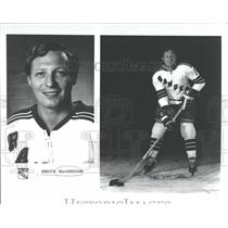 1971 Press Photo Bruce Mac Gregor New York Rangers - RRQ41587