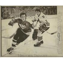 1972 Press Photo Phillip Douglas Russell Hockey League - RRQ14765
