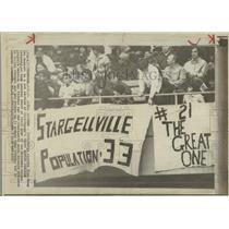 1972 Press Photo Pittsburgh Pirates Cinicinnati Reds - RRQ36629