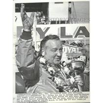 1972 Press Photo Andy Hampton Louisville Triumph Arca Royal Trton Race
