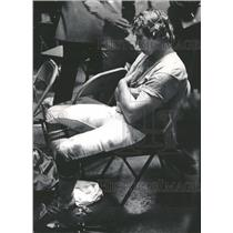 1973 Press Photo Charlie Johnson, Denver Broncos - RRQ12237