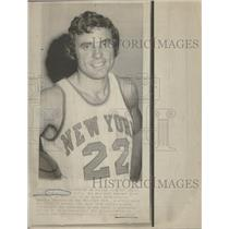 1973 Press Photo Dave DeBusschere Knicks Star Forward - RRQ16517