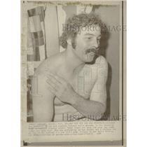 1974 Press Photo Jow Ferguson catcher LA Dodgers - RRQ30163