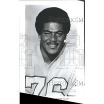 1974 Press Photo Allen Cowlings Houston Oilers Seahawks - RRQ55163